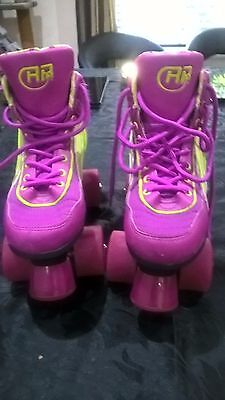SFR Rio Roller Boots - Quad skates - Size UK 2 - Great Condition
