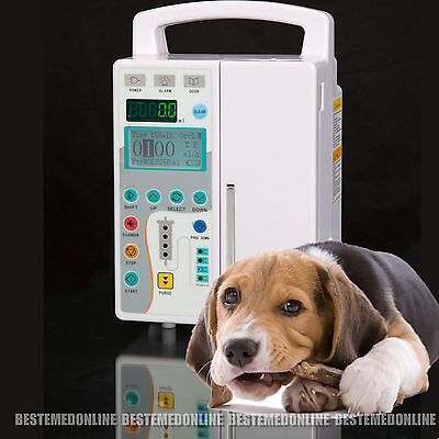 Veterinary vet LCD Infusion Pump IV & Fluid Audible Alarm *8 Years Memory