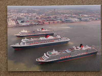 Cunard 3 Queens Event Liverpool 2015 Official - Aerial