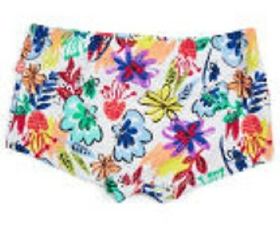 New Plum Baby Girls Floral Swim Pants  Spf 50+ Size 00 - Chlorine Resistant
