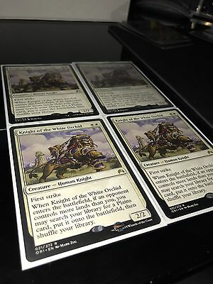 MTG Knight Of The White Orchid x4 Playset
