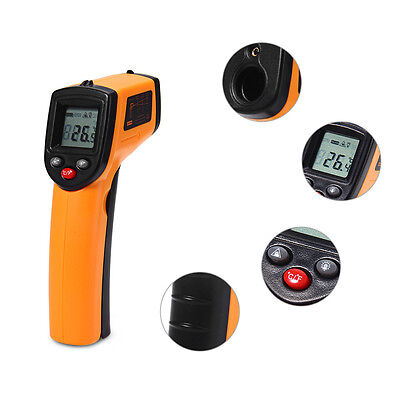 NEW Non-contact Infrared Thermometer Pyrometer Laser Temperature Measuring Gun