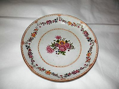 Famille Rose Hand Decorated Yongzheng Reign 18th Century Bowl