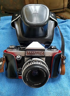 vintage praktica super TL with Carl Zeiss jena lense