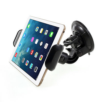 Car Mount Suction Cup Holder for iPad Air 2/iPad Pro 12.9 inch