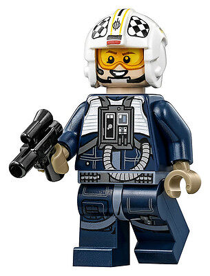 LEGO Star Wars Y-Wing Pilot Minifigure NEW - From Y-Wing Starfighter 75172