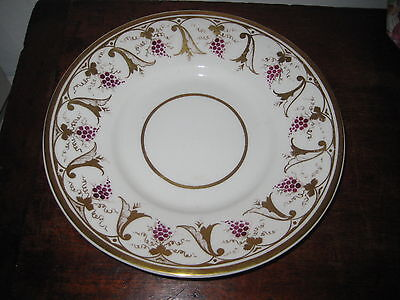 Regency Period Plate Classically Inspired Gilded Design