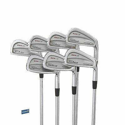 Titleist 695 CB Forged Steel Irons 3-9 /  Stiff Shaft Dynamic Gold S300