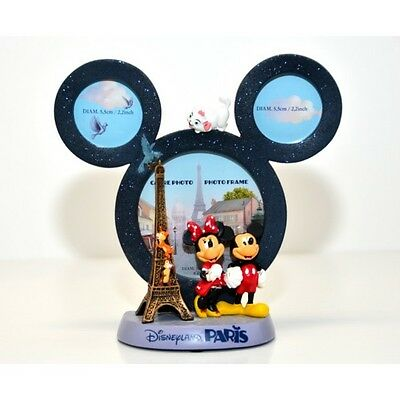Disney Mickey and Minnie Mouse Figurine and Photo Frame (2476)