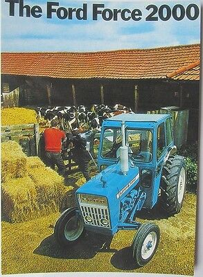Pack of 15 New Vintage Ad Gallery Postcards: 21 Ford 2000 Tractor