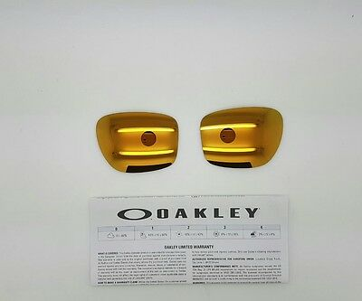 Oakley SLIVER lenti di ricambio 24K iridium model 9262 ORIGINAL NEW