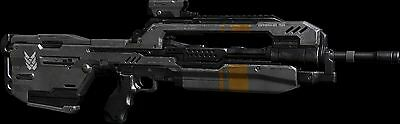 Halo Battle Rifle 3D Printed Replica Prop Full Size 1:1