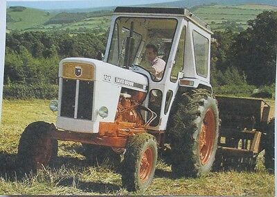 Pack of 15 New Vintage Ad Gallery Postcards: No 22 David Brown Tractor 1971