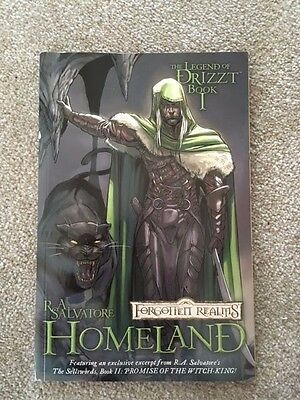 The Legend of Drizzt Book I - Homeland (Graphic Novel)