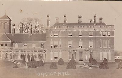 Oakley Hall, Country House, Rp, Hampshire, Circa 1920