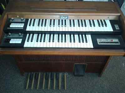Galanti Duo Electric Organ Napoli Italy Vintage 60/70s Electronics Music Piano