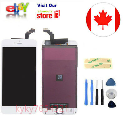 White+Replacement for iPhone 6 Plus Display LCD Lens Touch Screen Digitizer