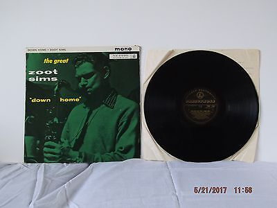The Great Zoot Sims  Down Home  Parlophone  Black And Gold Label 1961  Pmc1169