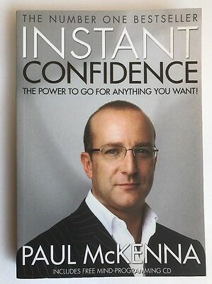 Instant Confidence!: The Power to Go for Anything You Want by Paul McKenna (Pap…
