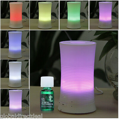 Ultrasonic Air Humidifier Essential Oil Aroma Diffuser LED Aromatherapy Purifier