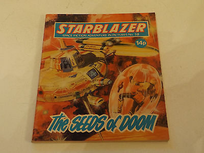 Starblazer Picture Library,no 38,1980 Issue,good For Age,very Rare Sci-Fi Comic
