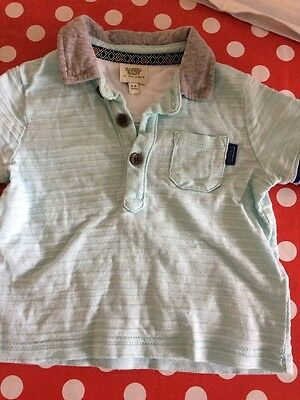 Ted Baker 3-6 Months Polo Shirt Turquoise