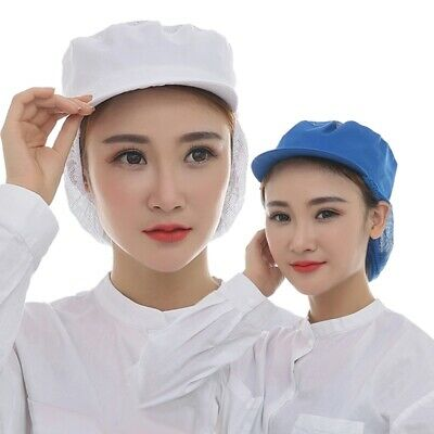 Chic Catering Cap Folding Factory Working Mesh Snood Hat Kitchen Durable Cap