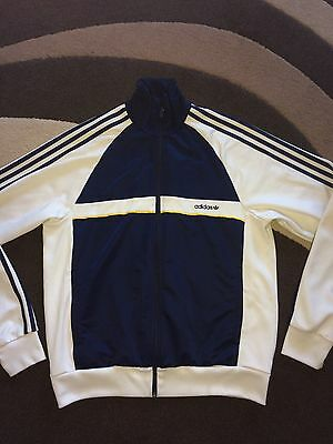 Adidas Large Adult Tracksuit Jacket Vintage Retro Firebird