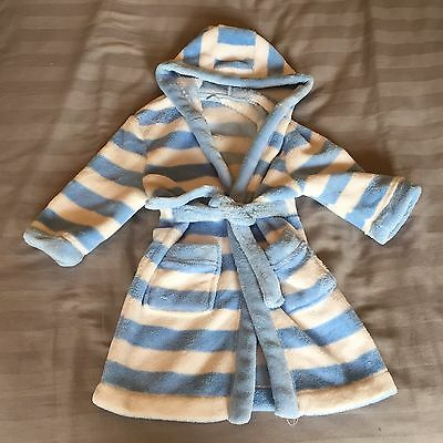 Baby Boy Dressing Gown 12-18 Months