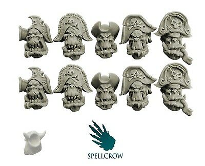 Spellcrow - Freebooter Orc Heads Version 1