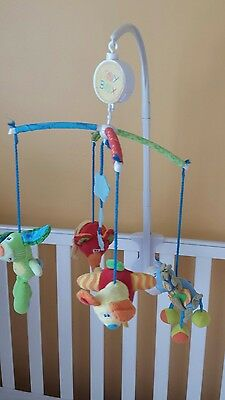Playgro Disney Toy Box Musical Mobile for Nursery Cot or Changing table
