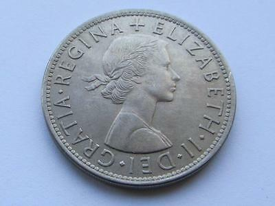 GB Halfcrown 1954 - Good collectable coin for lower mintage date, close to Unc