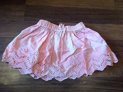 Baby Girl Skirt, 6-9 Months,   Excellent Condition ,pinky Peach Colour From Next
