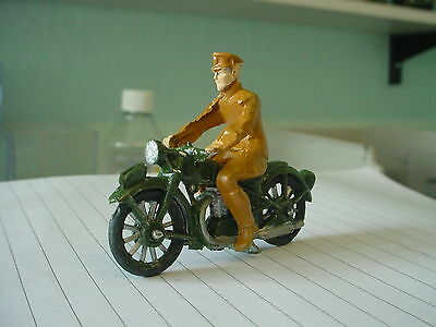dinky /morestone military army motorbike and rider code3
