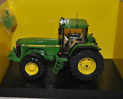 1:32 Schuco John Deere 8400 Tractor / Front Linkage Conversion, Britains Scale