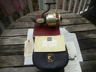 Vintage Rare Fin Nor No 4 Reel With Original Box And Manual Made In Usa