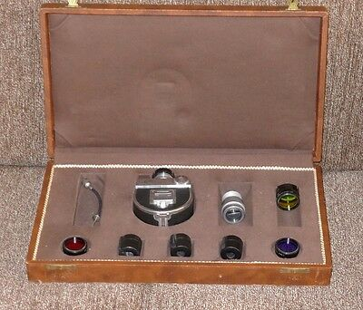 Schatz & Sohne SOLA subminiature camera outfit c.1938. RARE/COLLECTIBLE!