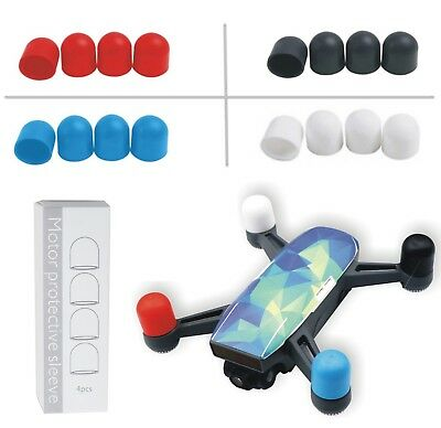 4pcs Motor Silicone Cover Protective Sleeve Cap Guard For DJI Spark Dust proof
