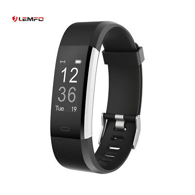 Lemfo Bluetooth ID115Plus Impermeable Banda Inteligente Fitness Para iOS Android