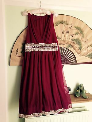1960s 1970s Nylon Nightdress True Vintage