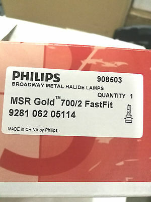 Philips MSR Gold 700/2 Fast Fit Lamp Bulb Halogen