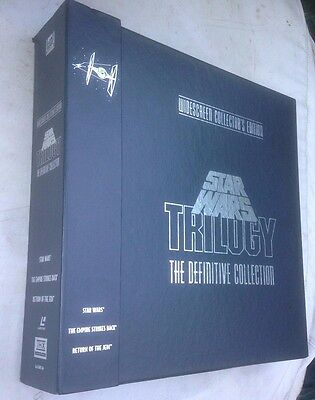 laserdisc star wars trilogy the definitive collection