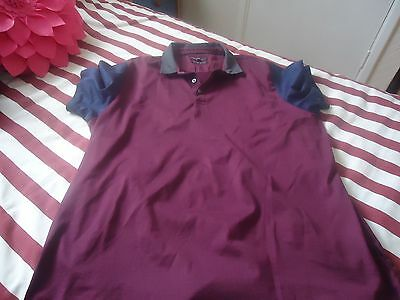 "M&S Mens Polo Shirt Size 48"" chest"