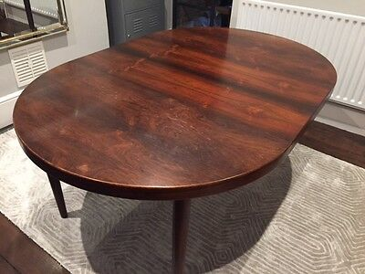 Danish rosewood dining table, extendable, 1960s