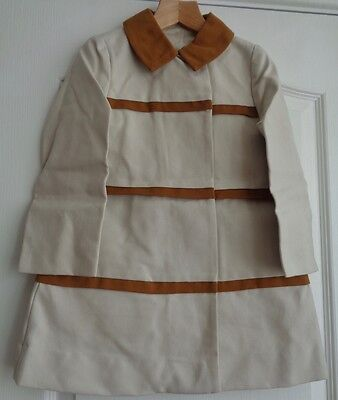 LITTLE PEOPLE BOUTIQUE 1970's original RETRO VINTAGE mod COAT/MACINTOSH 4-5 yr ?