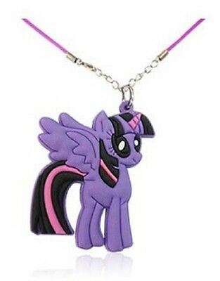 My Little Pony Collana ciondolo Bambina  TWILIGHT SPARKLE. GADGET ! IDEA REGALO!