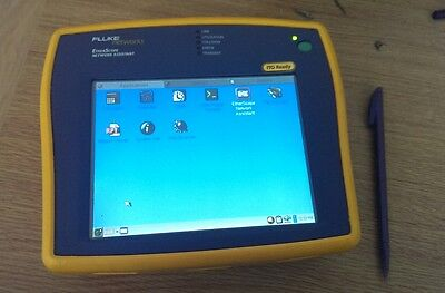 FLUKE Networks Etherscope Lan & WLAN cable and wireless Tester/Analyser