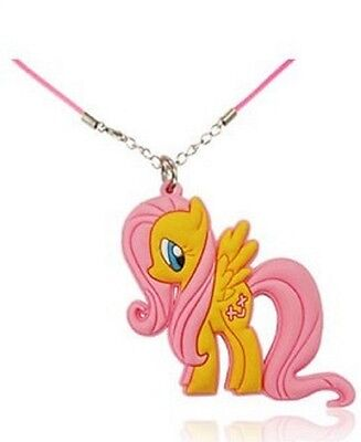 My Little Pony Collana ciondolo Bambina  Fluttershy!  Gadget! IDEA REGALO