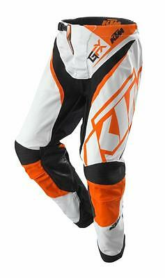 KTM Gravity-FX Pants White Off-Road Motocross Motorcycle Trousers RRP £160.68!!