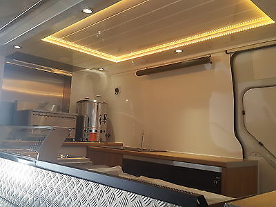 Brand New Catering Van Conversion Vauxhall Movano Food Burger Trailer Business